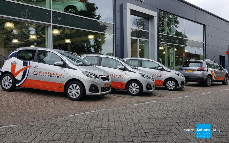 Autobelettering Westland Autoschade - Van der Schans Design - Den Hoorn-v2