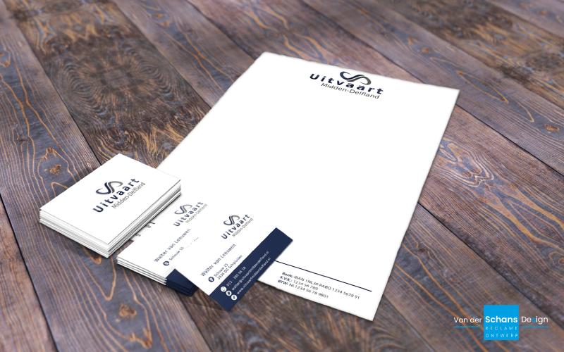 Briefpapier - Uitvaart Midden-Delfland van der Schans Design - Den Hoorn