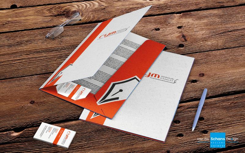 Huisstijl RYM Administratie - Van der Schans Design Den Hoorn
