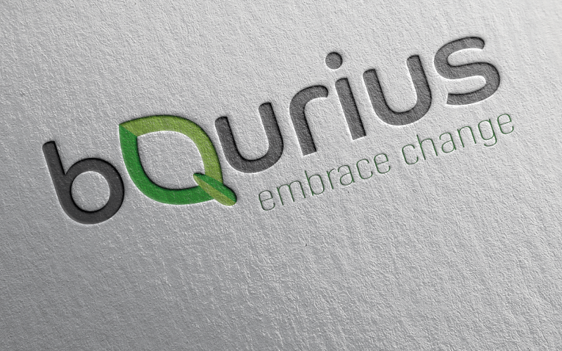 Logo Ontwerp BQurius - Van der Schans Design - Den Hoorn