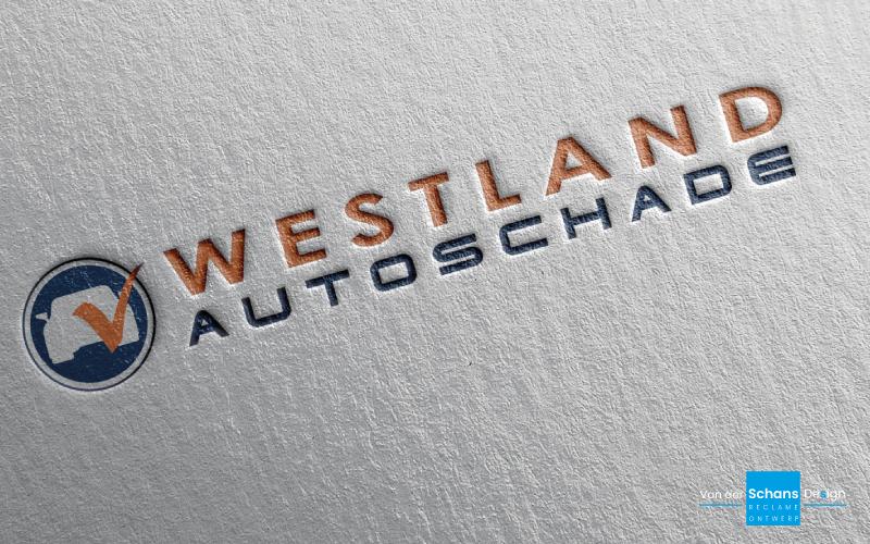 Logo Westland Autoschade - Van der Schans Design - Den Hoorn