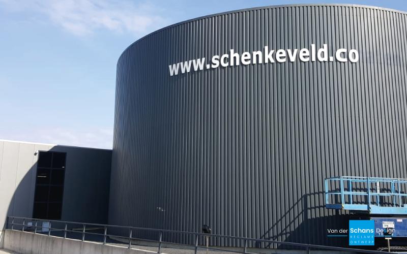 Schenkeveld Gevelbelettering - van der Schans Design - Den Hoorn
