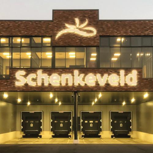 Schenkeveld Gevelreclame Schiphol - Van der Schans Design - Den Hoorn
