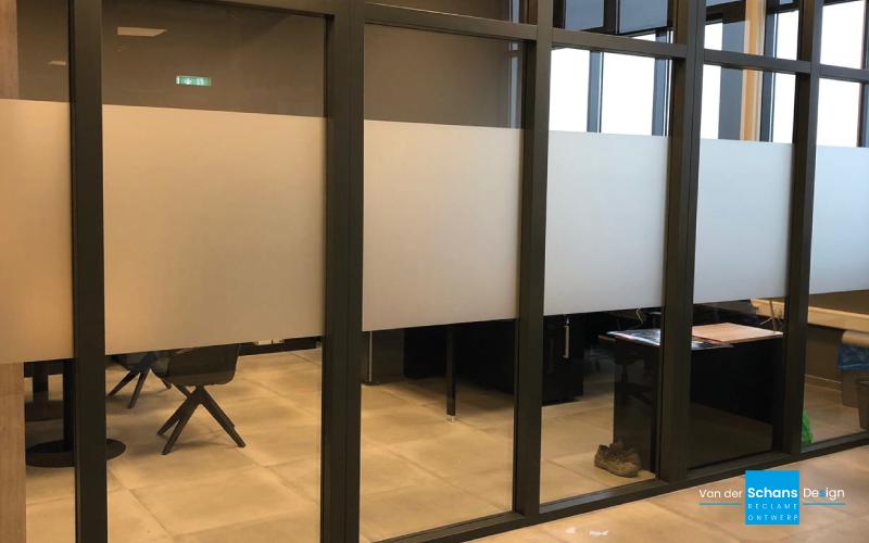 Schenkeveld Glasetsfolie - van der Schans Design - Den Hoorn