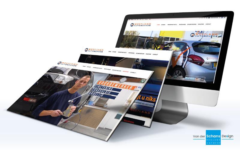 Website Westland Autoschade - Van der Schans Design - Den Hoorn 2