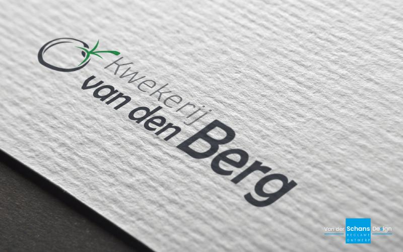 Logo Kwekerij van den Berg - Van der Schans Design - Den Hoorn-2