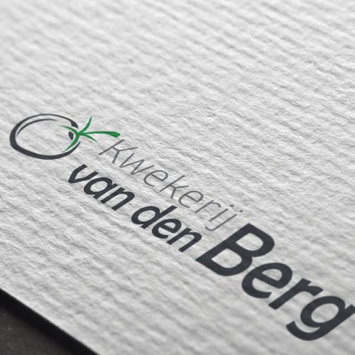 Logo Ontwerp Kwekerij van den Berg - Van der Schans Design - Den Hoorn 2