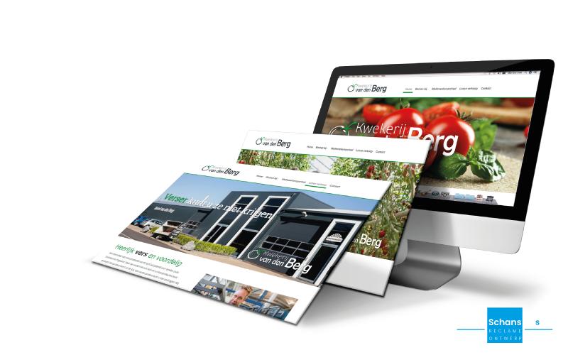 Website Kwekerij van den Berg - Van der Schans Design - Den Hoorn 2