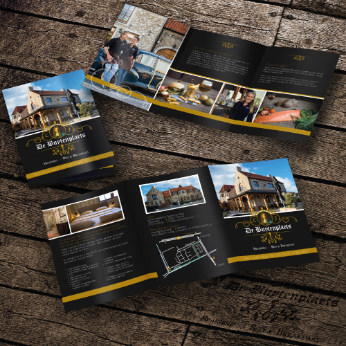 Folder Ontwerp - De Buytenplaets - Van der Schans Design - Den Hoorn v2