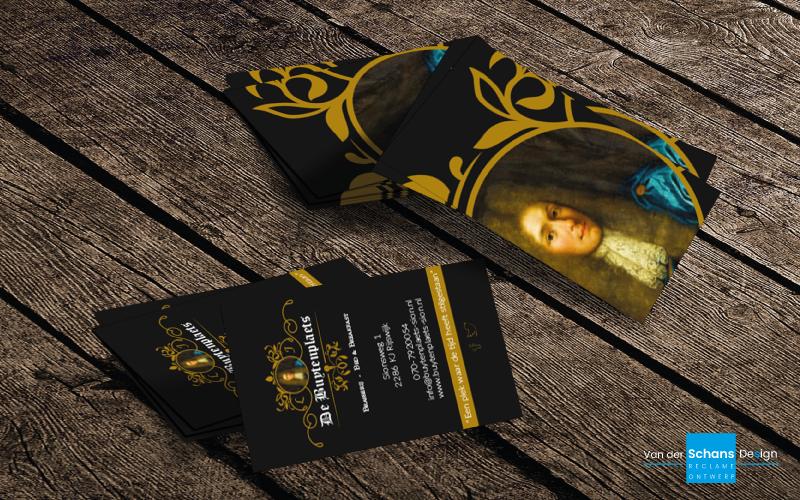 Visitekaartje Ontwerp - De Buytenplaets - Van der Schans Design - Den Hoorn