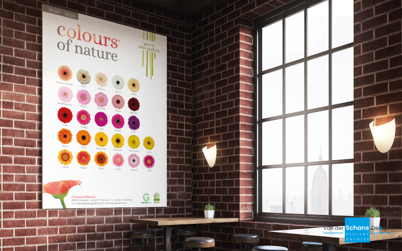 Poster - Colours of Nature - van der Schans Design - Den-Hoorn 1