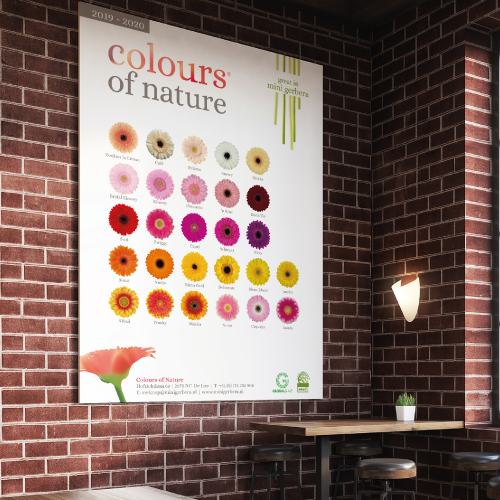 Poster - Colours of Nature - van der Schans Design - Den-Hoorn 2