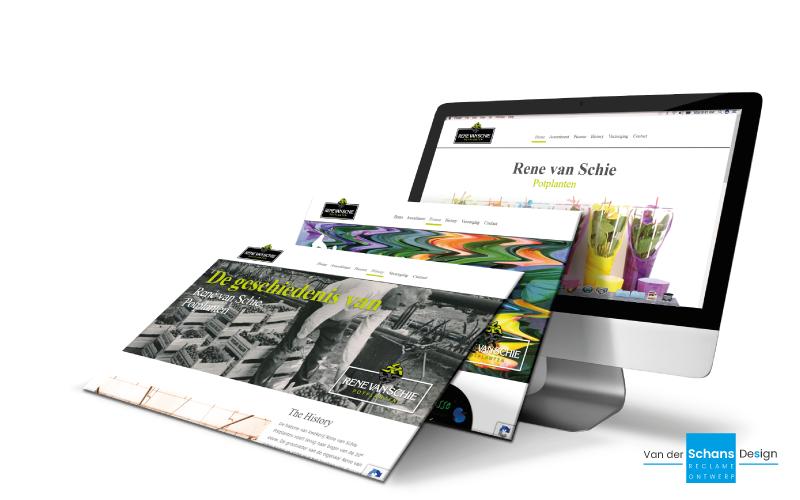 Website Rene van Schie Potplanten - van der Schans Design - Den-Hoorn 1